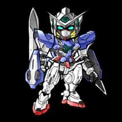 Tee shirt SD gundam version Exia le robot  sublimation