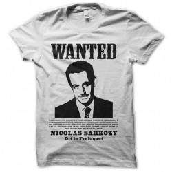 tee shirt wanted sarkozy...