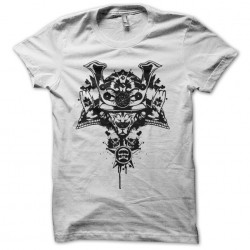 Samurai tattoo t-shirt in white sublimation