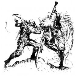 Tee shirt tatouage Samurai...