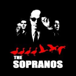 tee shirt les sopranos mafia sublimation