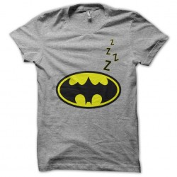 tee shirt batman Zzz gris...