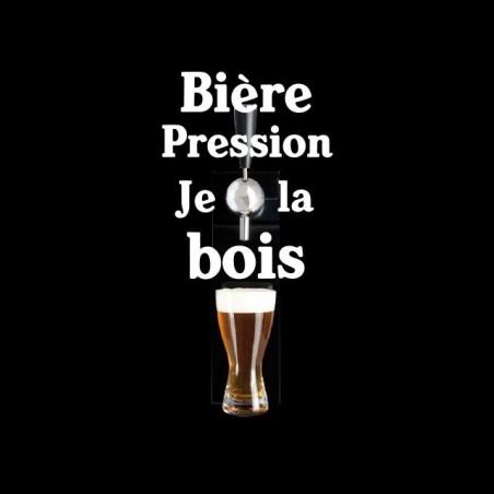 Beer Pression T-shirt I black sublimation