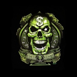 tee shirt original gangster sublimation