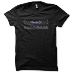 Randall Amplifiers artwork black sublimation t-shirt