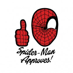 tee shirt spiderman approuve sublimation
