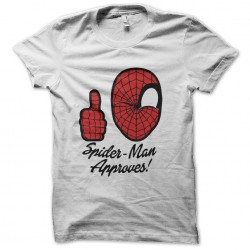 spiderman shirt approves...