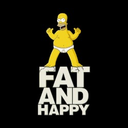 homer shirt simpson fat and happy sublimation