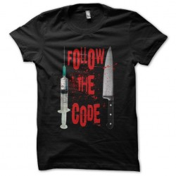 tee shirt dexter follow the...