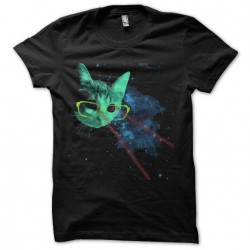 cat's shirt space laser...