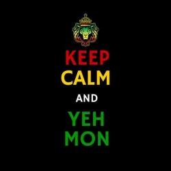 tee shirt yeah mon rasta keep calm sublimation