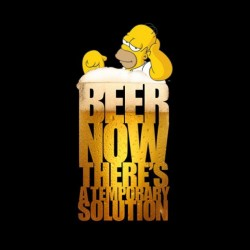 homer simpson shirt and beer sublimation