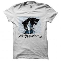 tee shirt valar morghulis game of thrones sublimation