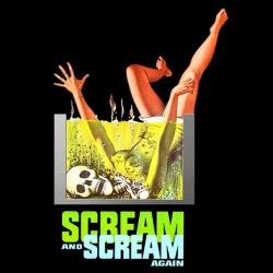 tee shirt scream scream again sublimation