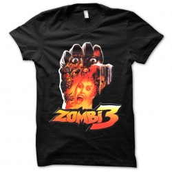 tee shirt zombi 3  sublimation
