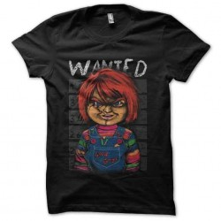 shirt wanted chucky...