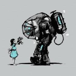 mechwarrior nuclear girl sublimation shirt