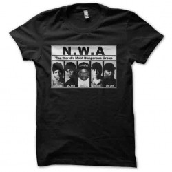 shirt nwa dangerous gang...