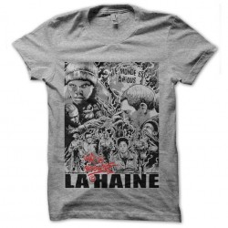 tee shirt la haine le monde...