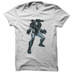 T-shirt war machine white sublimation