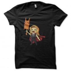 shirt thor is pikachu...