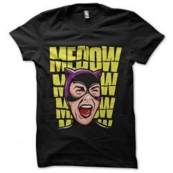 meoow shirt catwoman black...