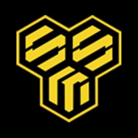 Macross border symbol t-shirt in black sublimation