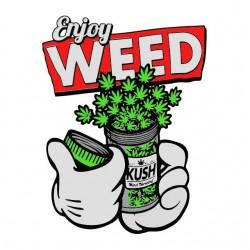 shirt enjoy weed mickey dope sublimation