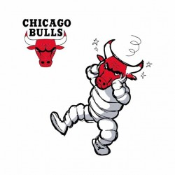 shirt chicago bulls vs cow laughing sublimation