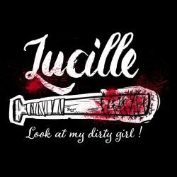 WD shirt - Lucille Negan sublimation