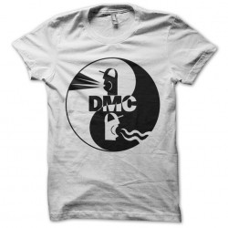 dmc white sublimation shirt