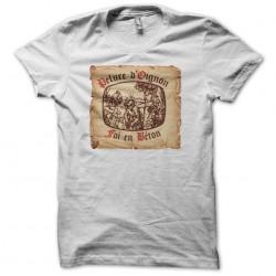 Tee shirt Pelure d'Oignon Foi en béton  sublimation