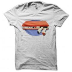 PingOTronic white sublimation t-shirt