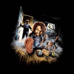 chucky shirt the sublimation blood doll
