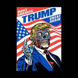 donald trump shirt zombie sublimation