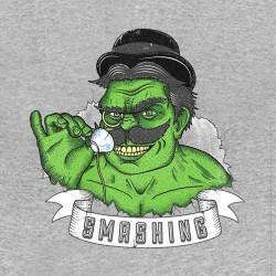 shirt english hulk gray sublimation