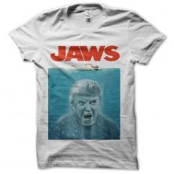 tee shirt donald trump jaws...