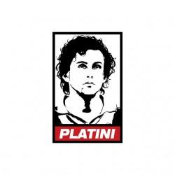 Michel Platini parody Obey...