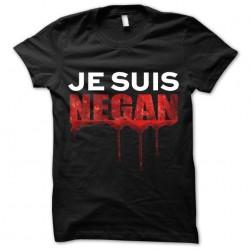 shirt i am negan blood...