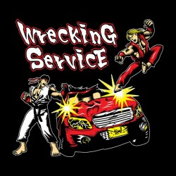 tee shirt sf2 wrecking service  sublimation