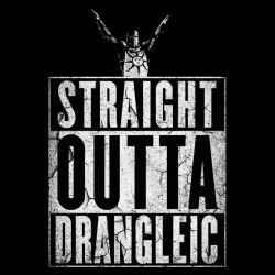 Straight outta Drangleic - Dark Souls T-Shirt Sublimation
