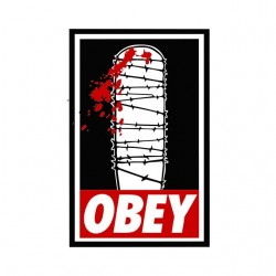 obey lucille shirt walking dead sublimation