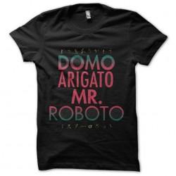 shirt mr roboto arigato...