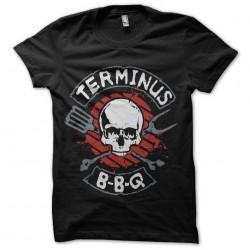 shirt walking dead BBQ...