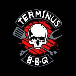 shirt walking dead BBQ sublimation terminus