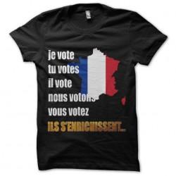 tee shirt je vote en France...