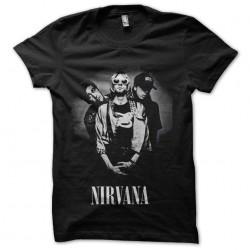 tee shirt nirvana cobain...