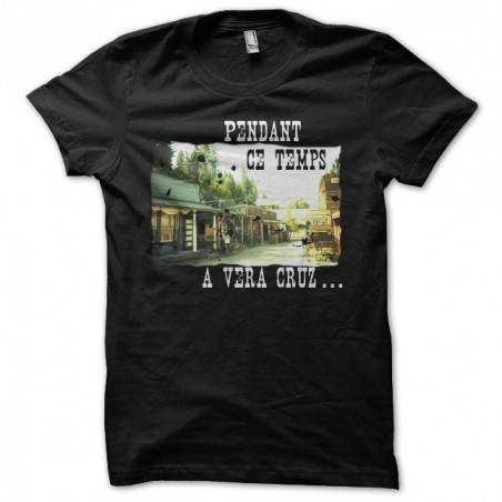 The city of fear during this time in Vera Cruz black sublimation t-shirt