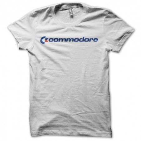 Commodore classic white sublimation t-shirt