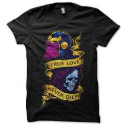tee shirt thanos death...
